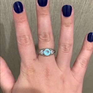Jewelry - Aquamarine Sterling Silver Ring